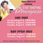 Back to School Shopping with Rhea Lana's Consignment