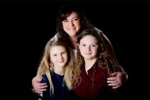 Michelle and step-daughters